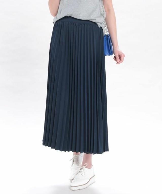 ViS アコーディオンプリーツスカート