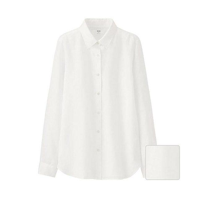 WOMEN プレミアムリネンシャツ(長袖)