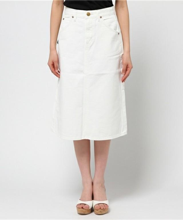 LEE:ホワイトデニムスカート