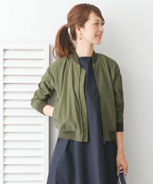 URBAN RESEARCH DOORS WOMENS DOORS MA-1コンパクトブルゾン