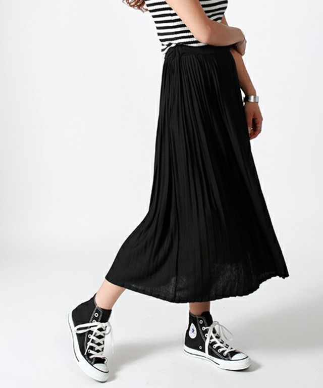 FREAK'S STORE カットプリーツスカート