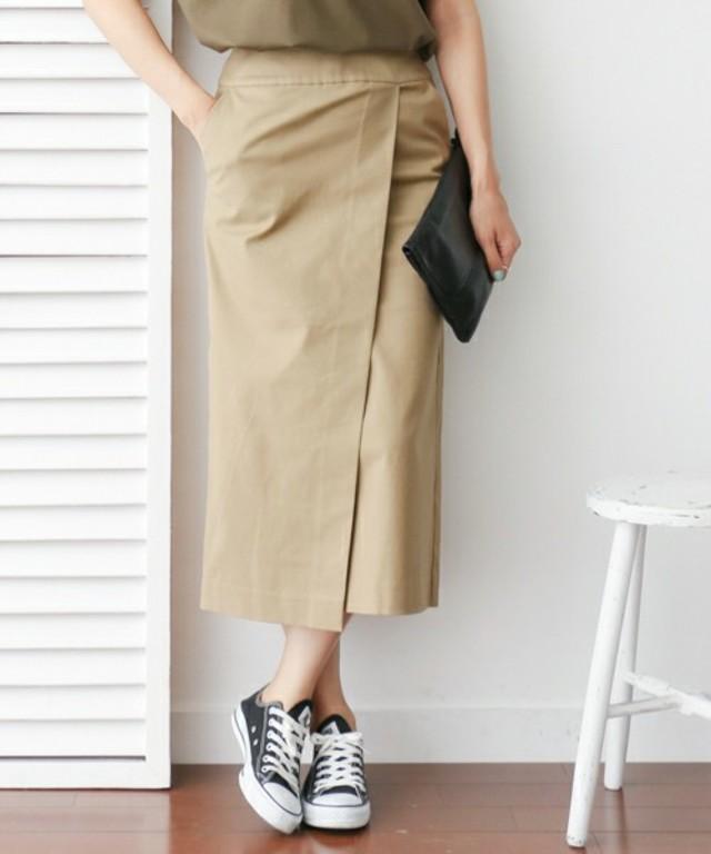 URBAN RESEARCH DOORS WOMENS DOORS ラップストレートスカート
