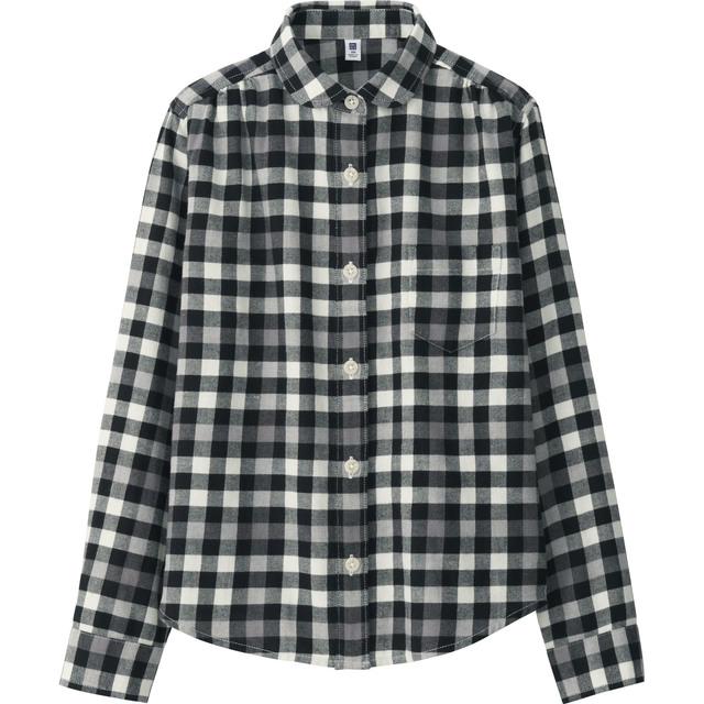 KIDS フランネルチェックシャツ(長袖)