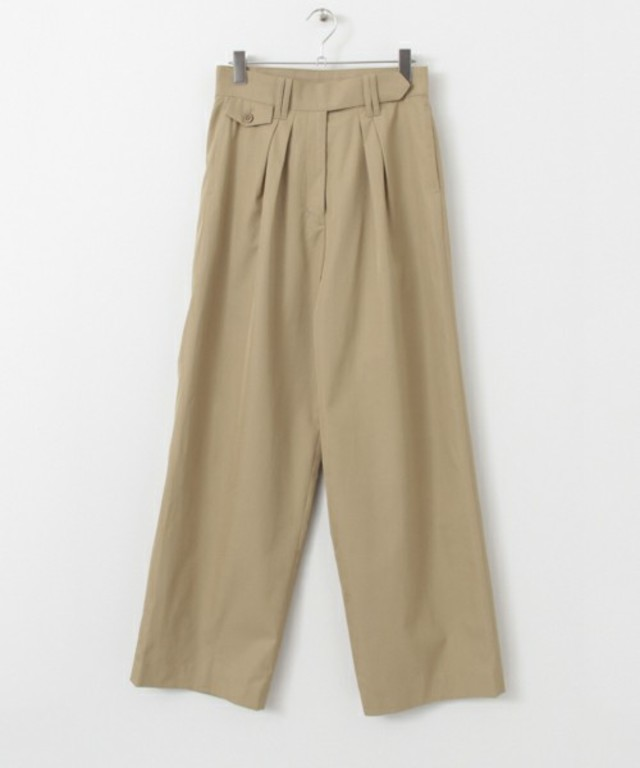 URBAN RESEARCH ROSSO Lirica HIGH WAIST WIDE PANT`S