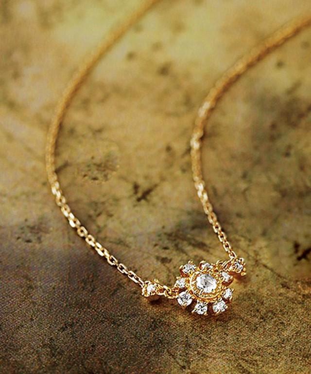 数量限定:2016年限定K18ダイヤモンドネックレス