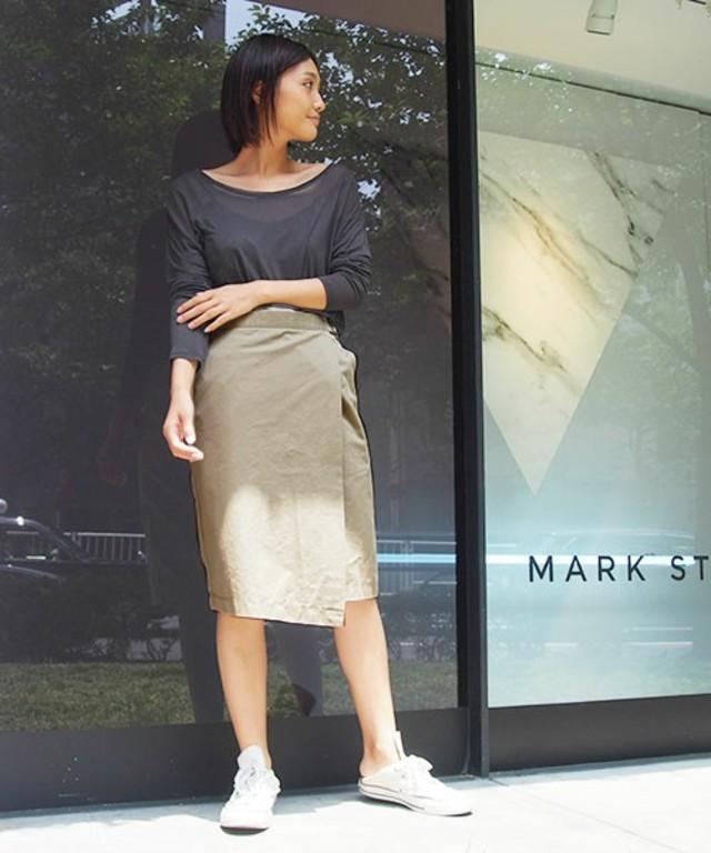 Ingrid ミドルラップスカート