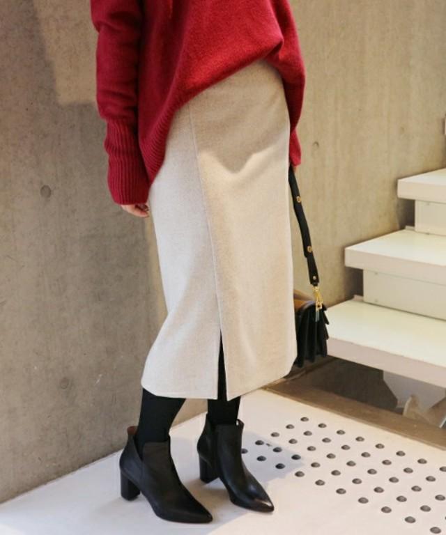IENA ストレッチツイードカラースカート