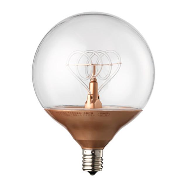 NITTIO LED電球 E17 20ルーメン, 球形 コッパーカラー