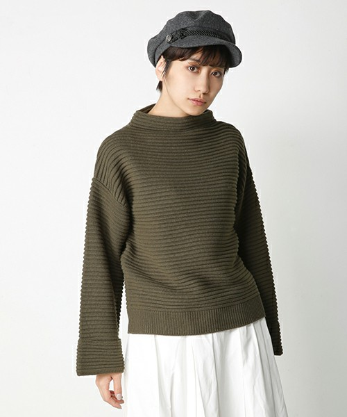 Tuck Stitch Over Sweater