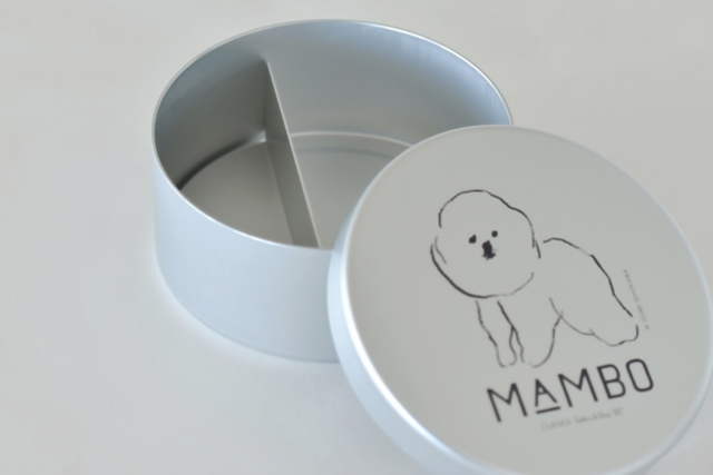 MAMBO アルミ弁当箱 丸型