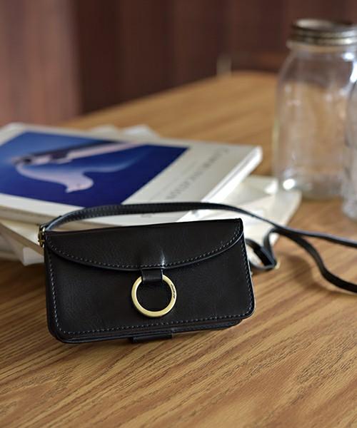 スマホケース付きお財布ショルダーバッグ