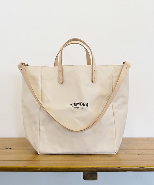 BEAMS WOMENこども ビームス TEMBEA / 別注 マザートート ロゴ