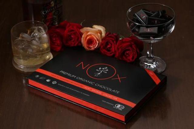 NOX プレミアムオーガニックチョコレート GIFT Edition 30 pieces