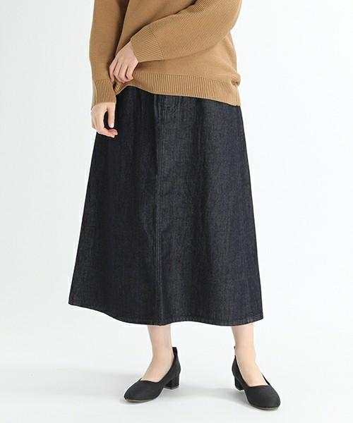 studio CLIP 11オンズデニムスカート