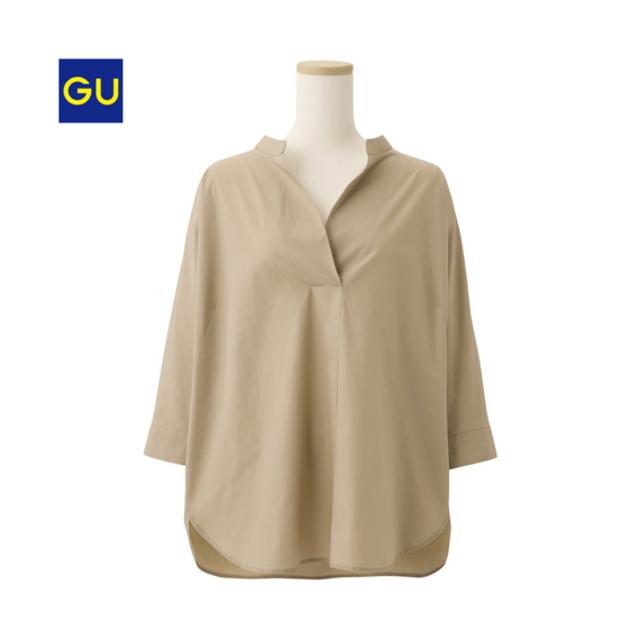 オーバーサイズスキッパーシャツ(7分袖)