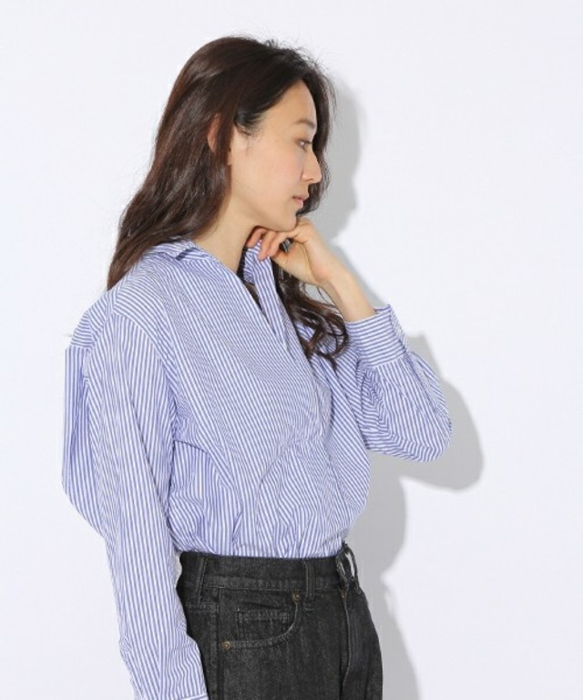 【niko and...】先染めマーセスキッパーシャツ