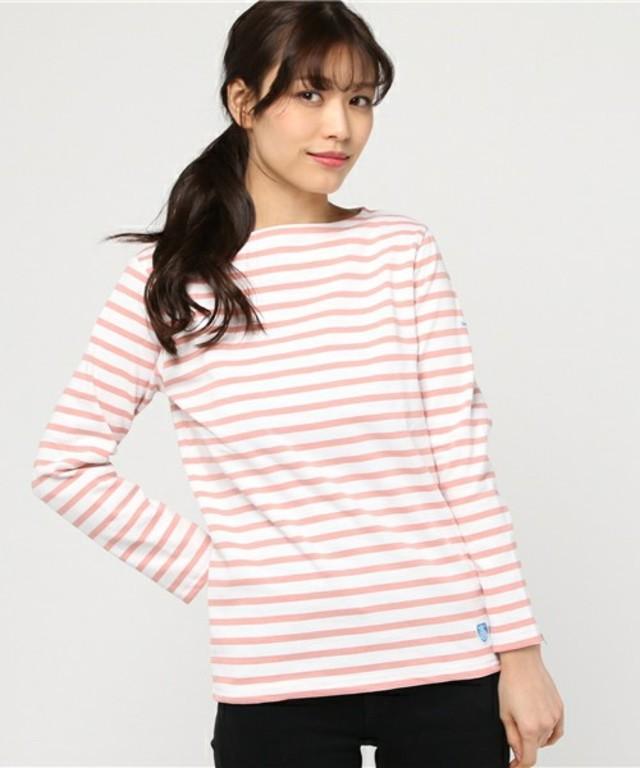 【ORCIVAL】コットンロード フレンチバスクシャツ