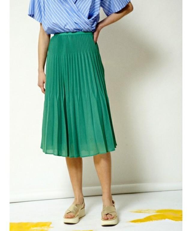 セット プリーツ スカート