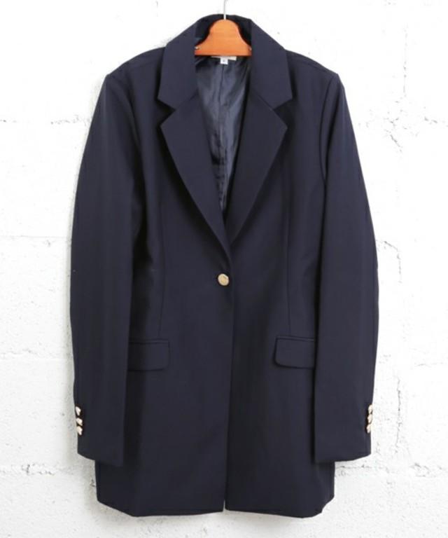 紺ブレザージャケット