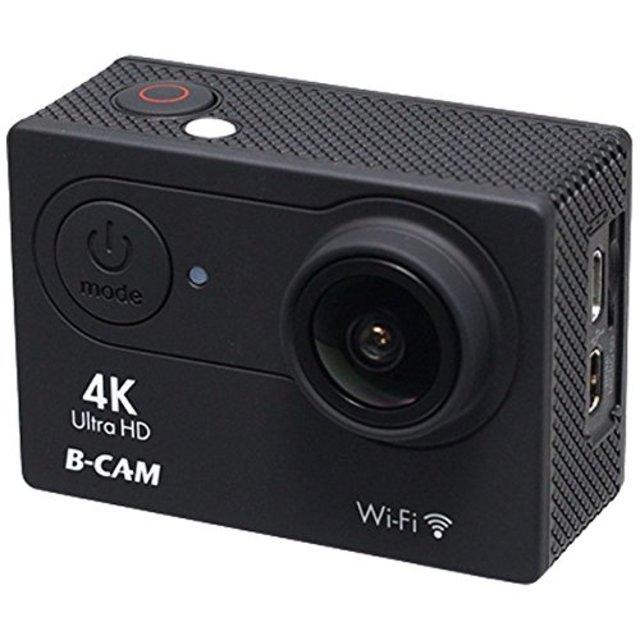 B-CAM 4Kアクションカメラ BDV-K06