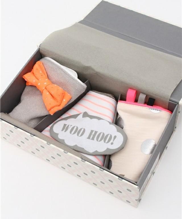 MARLMARL dolce & joujou 3bibs gift set/ ギフトボックス入りスタイ3枚セット(メッセージカード付き)