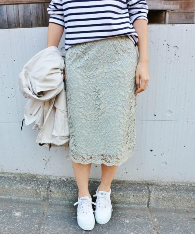 IENA コードレース スカート