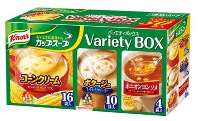 クノール カップスープ バラエティボックス30袋入り