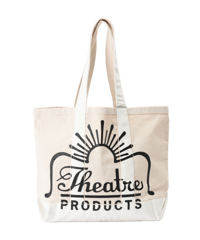 THEATRE PRODUCTS/キャンバスロゴトートバッグ