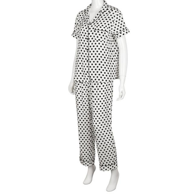 パジャマ(ドット・半袖)