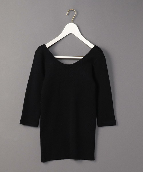 6(ROKU) BEAUTY&YOUTH UNITED ARROWS BIG THERMAL U-NECK 2/カットソー