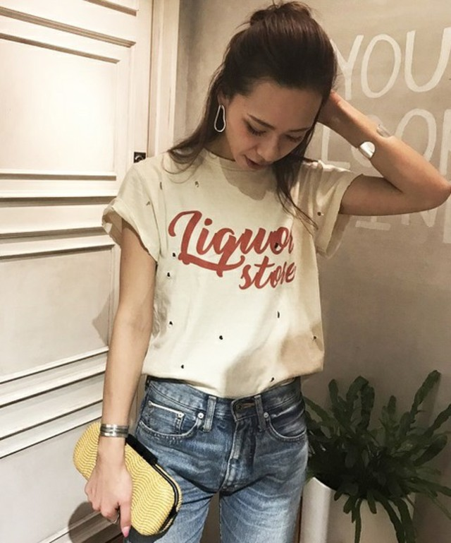 TODAYFUL  Grinder Logo Tシャツ