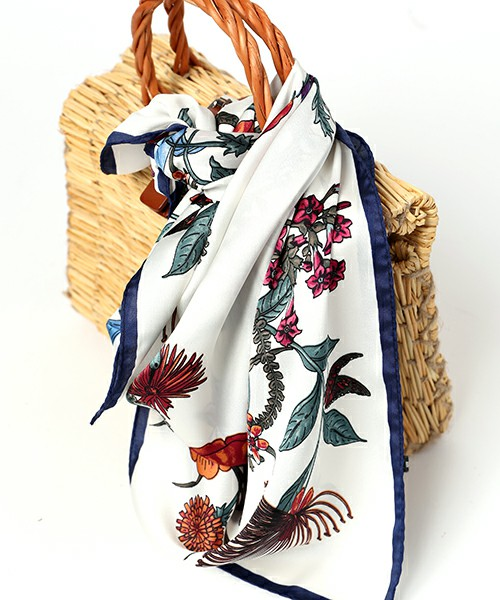 FREAK'S STORE 花柄スカーフ