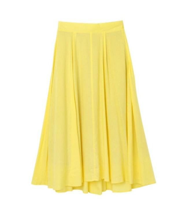marjour  カラーフレアスカート