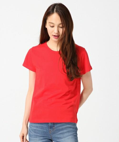 GLOBAL WORK  オーガニッククルーTシャツ半袖
