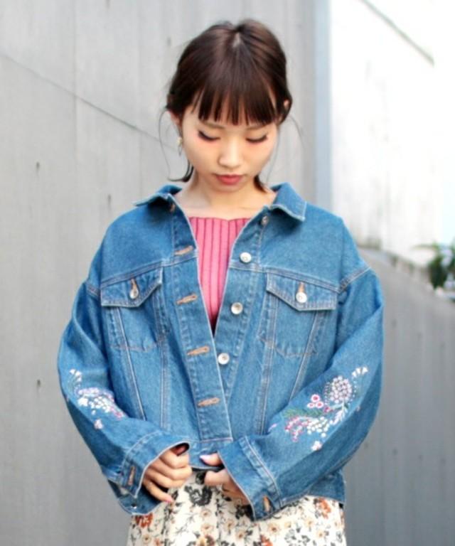 刺繍入りGジャン / PAGEBOY
