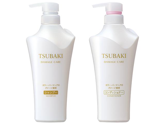 TSUBAKI ダメージケア シャンプー&ヘアコンディショナー