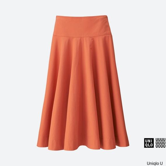 シアサッカーラウンドスカート