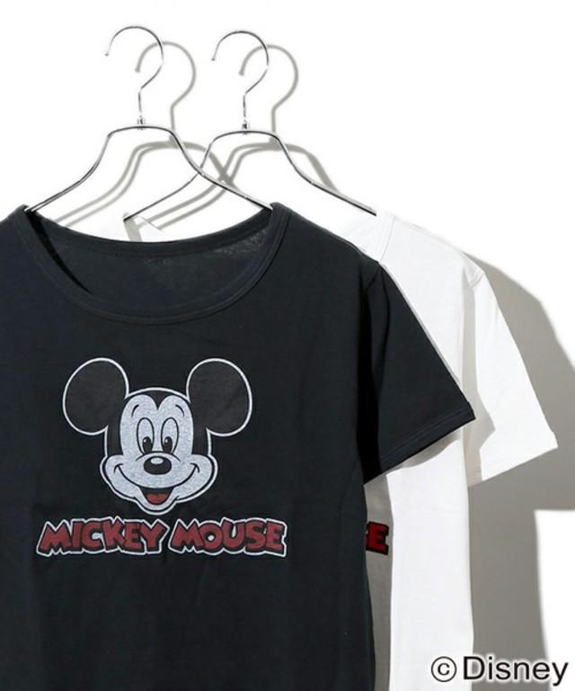 WEGO  ミッキーマウス別注Tシャツ