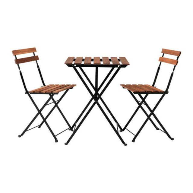 IKEA TÄRNÖ テーブル&チェア2脚 屋外用