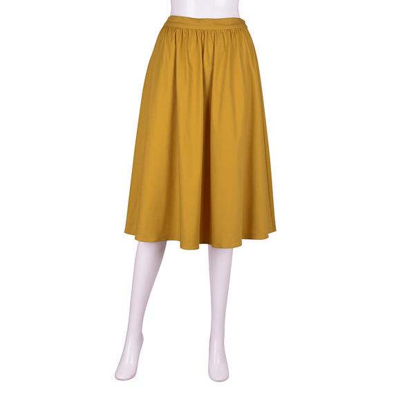 (GU)イージーカラースカート