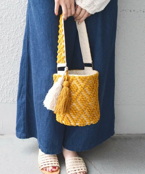 SHIPS for women / 刺繍ワンショルダー