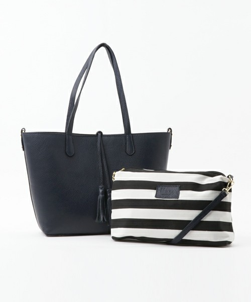 SHIPS for women / タッセルトート