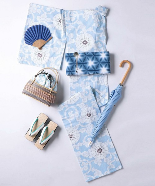 UNITED ARROWS / <KAGUWA(カグワ)>花唐草 浴衣