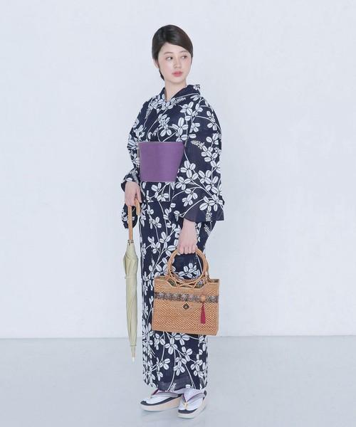 UNITED ARROWS / <竺仙(ちくせん)>綿絽 萩 浴衣