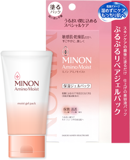 ミノン / アミノモイスト ぷるぷるリペアジェルパック