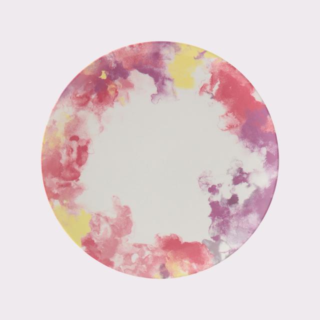 メロウ メラミンプレート ピンク