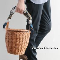 VITARAS GEDVILAS 蓋付きカゴバッグ