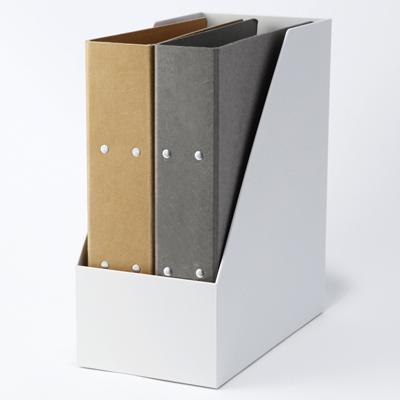 ポリプロピレンスタンドファイルボックス ワイド A4用 約幅15×奥行27.6×高さ31.8㎝