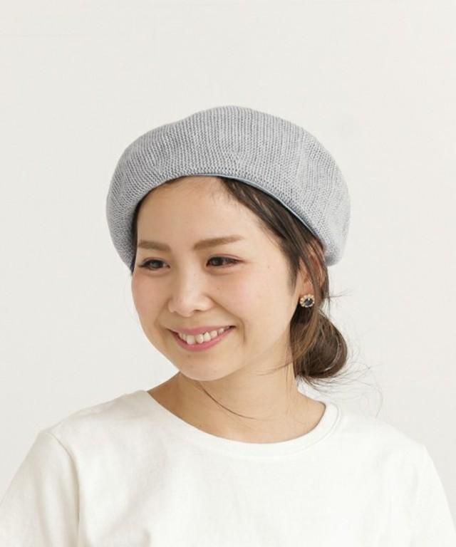 コットンベレー帽