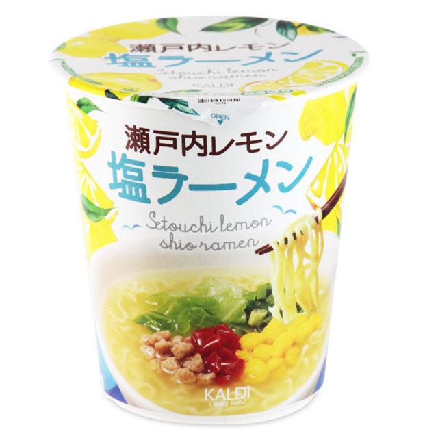 カルディオリジナル 瀬戸内レモン塩ラーメン 64g
